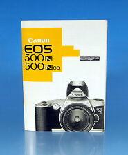 Canon EOS 500N & 500NQD Bedienungsanleitung german manual - 25958