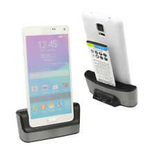 New Dual Charger Dock Battery Charging Station for Samsung Galaxy Note 4 SM-N910