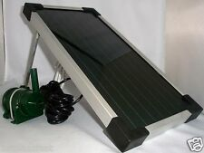 CORDLESS 2WATT 6VDC SOLAR PANEL POWERED WATER FOUNTAIN SUBMERSIBLE PUMP W STAND