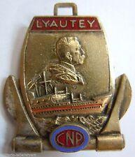 CNP LYAUTEY insigne Marine Marchande Compagnie Navigation PAQUET (Maroc) Augis