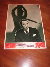 FOTOBUSTA,1951 L-ULTIMO RICATTO,Blackmail.Edward G. Robinson H.C. Potter.Noir