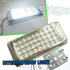 12v 36 LED White Interior Dome Roof Ceiling Light Universal Car Van Unit Lamp