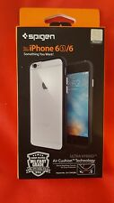 iPhone 6 / 6S Case Spigen Ultra Hybrid Shockproof Black AIR CUSHION Technology