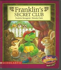 Franklin's Secret Club Paulette Bourgeois Brenda Clark PB 1998 Chick-fil-A
