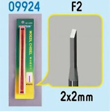 Trumpeter Modelling Tools - Micro Chisel F2 - Flat 2mm Tip (2x2mm)
