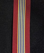 The Sovereign's Medal for Volunteers Full Size Ribbon, 40 inches