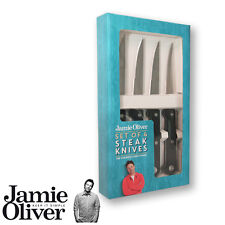 Jamie Oliver - 4 steak knives with black handle