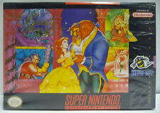 DISNEY BEAUTY AND THE BEAST - SNES SUPER NINTENDO NTSC USA VERSION BOXED