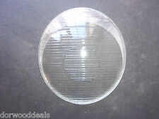 Early VW Bus Clear Glass Oval Headlight Lens With Circle NOS   -  IMP124