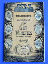 Bill Hardey's Songs of the Gay Nineties&Other Old Favorites 1938/1942 Hugo Frey