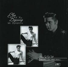 Elvis Presley - Mr. Dynamite Souvenir Photo Album w/ Interview 45rpm JAT Release