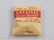 Longines Genuine Material Part #242 Cannon Pinion/Dr.Wheel for Longines Cal. 285