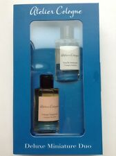 Mini Duo Atelier Cologne:Vanille Insensee+ Orange Sanguine 0.24 oz Splash Travel