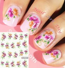 20 Nail Art Water Transfer Stickers(#BLE1455)-Decals-Adesivi Unghie- MANICURE!!!