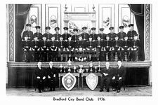 pt4171 - Bradford City Band Club 1936 , Yorkshire - photo 6x4