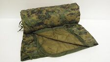 NEW  USMC MILITARY Poncho/Blanket  Reversible Digital Woodland/Coyote WOOBIE