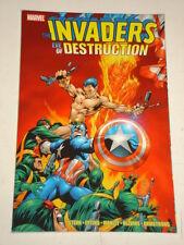 INVADERS EVE OF DESTRUCTION MARVEL CAPTAIN AMERICA ROGER STERN   9780785145523