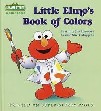 Little Elmo's Book of Colors (Toddler Books) by Gorbaty, Norman, Good Book