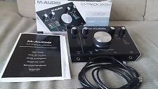 M-AUDIO M-Track 2x2m 2-in/2-out 24/192 USB Interfaccia Audio/MIDI