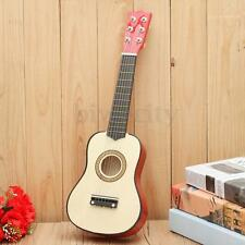 21 Inch 6 String Acoustic Guitar w/ Pick For Children Kids Beginner Practice Toy