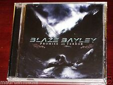 Blaze Bayley: Promise And Terror CD 2010 Iron Maiden & Candlelight USA Recs NEW