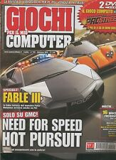 GIOCHI per il mio COMPUTER 170 fable 3-need for speed nfs hot pursuit