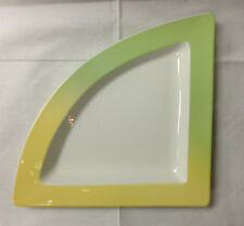 VILLEROY & BOCH NEW WAVE LAGOON TRIANGLE PIZZA PLATE STONEWARE NEW GERMANY