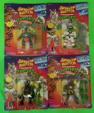 SET OF 4 SMASH'EM BASH'EM TMNT UNOPENED-SEALED 1992