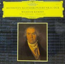 Beethoven(Vinyl LP)Klavierkonzerte No.1-Deutsche Grammophon-Germany-Ex-/NM