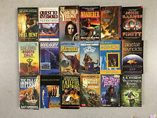 SCIENCE FICTION Paperback Novels  Lot, 16 Randomly Selected Books FREE SHIPPING