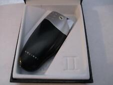 Colibri Black Silver Jet Flame Windproof Cigar Lighter