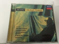 Various Artists - The World Of Michael Nyman - MINT CD 028946781029