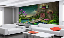 Tree With Door Wall Mural Photo Wallpaper GIANT DECOR Paper Poster Free Paste