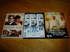 BEFORE I GO TO SLEEP-THE RAILWAY MAN-THE TWO FACES OF JANUARY-FINE-PLAYED ONCE