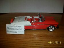Franklin Mint Precision Models1955 Chevrolet Bel Air Convertible in 1/24 scale