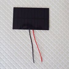 Mini Solar Panel 5V 100mah with wire 2 pcs  55X80mm