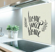 60cm x 75cm Digital Print Glass Splashback Heat Resistant  Toughened 397