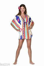 Caftan Swimsuit Cover Up Poncho Beach Dress 1 Left Free Shipping