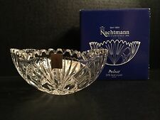 German Cut Glass Crystal Nachtman Bowl Palais Bleikristall New In Box