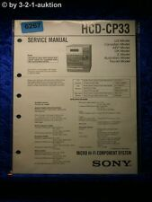 Sony Service Manual HCD CP33 Component System (#6267)