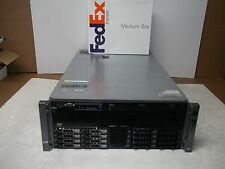 Dell PowerEdge R910 4x1.86GHz 24 Core Server 128GB 8x146GB Hex Core RPS H700 SAS