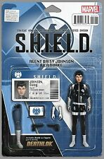 QUAKE #1: S.H.I.E.L.D. 50th ANNIVERSARY(2015) ACTION FIGURE VARIANT MARVEL NM