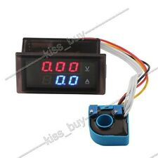 DC 100V ±50A Digital Voltmeter Ammeter Monitor solar panel CAR battery Charge