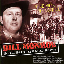 Blue Moon of Kentucky [Country Stars] by Bill Monroe (CD, May-20050, Count)