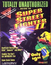 SUPER STREET FIGHTER II 2 BRADYGAMES OFFICIAL STRATEGY GAME GUIDE