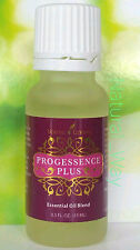 Young Living PROGESSENCE PLUS SERUM 15ml Frankinsence, Bergamot, Pepprmint NEW!