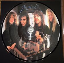 METALLICA THE $5.98 E.P. GARAGE DAYS RE-REVISITED 180G PICTURE DISC VINYL IMPORT