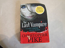 The Last Vampire Black Blood Paperback Book By Christopher Pike FREE Postage