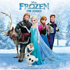 Frozen: The Songs [LP] by Kristen Anderson Walt Disney Records (Vinyl)