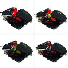 YCCTEAM  Professional 4000DPI 10D Buttoms LED Optical Gaming Programming Mice